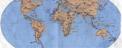 Route plan for anti-malaria drugs