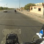 moroccan mopeds ignore redlight