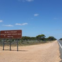 "Crossing the Nullarbor - The longest straight road in Australia • <a style=""font-size:0.8em;"" href=""http://www.flickr.com/photos/50948792@N02/24632021582/"" target=""_blank"">View on Flickr</a>"
